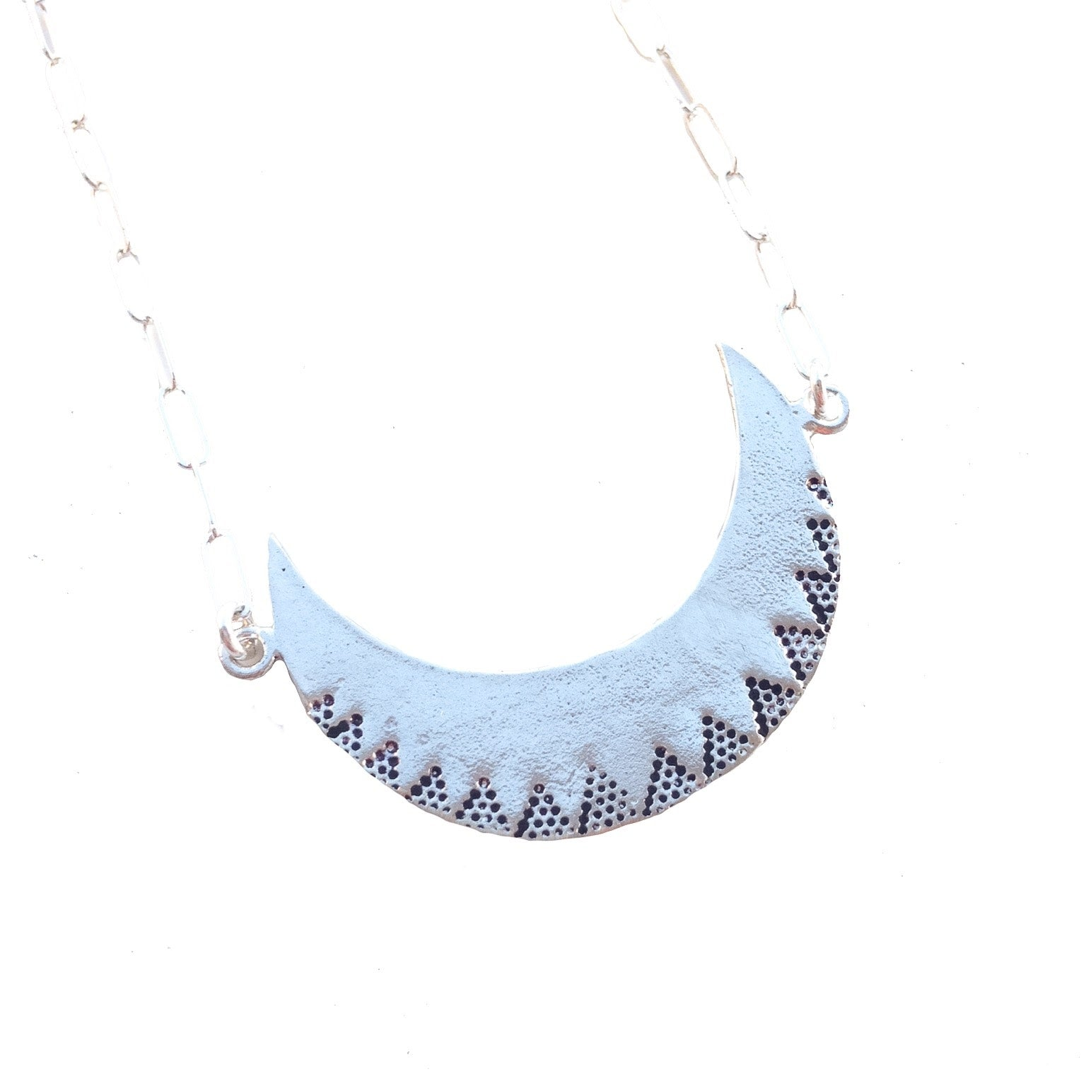 9b853f238 Danielle Hornyak Jewelry Large Crescent Moon Necklace