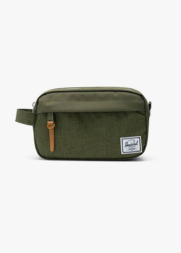Herschel Supply Co Chapter Carry On Travel Kit in Olive Night ad958df0b0a92