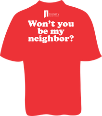 Won't You Be My Neighbor? Tee