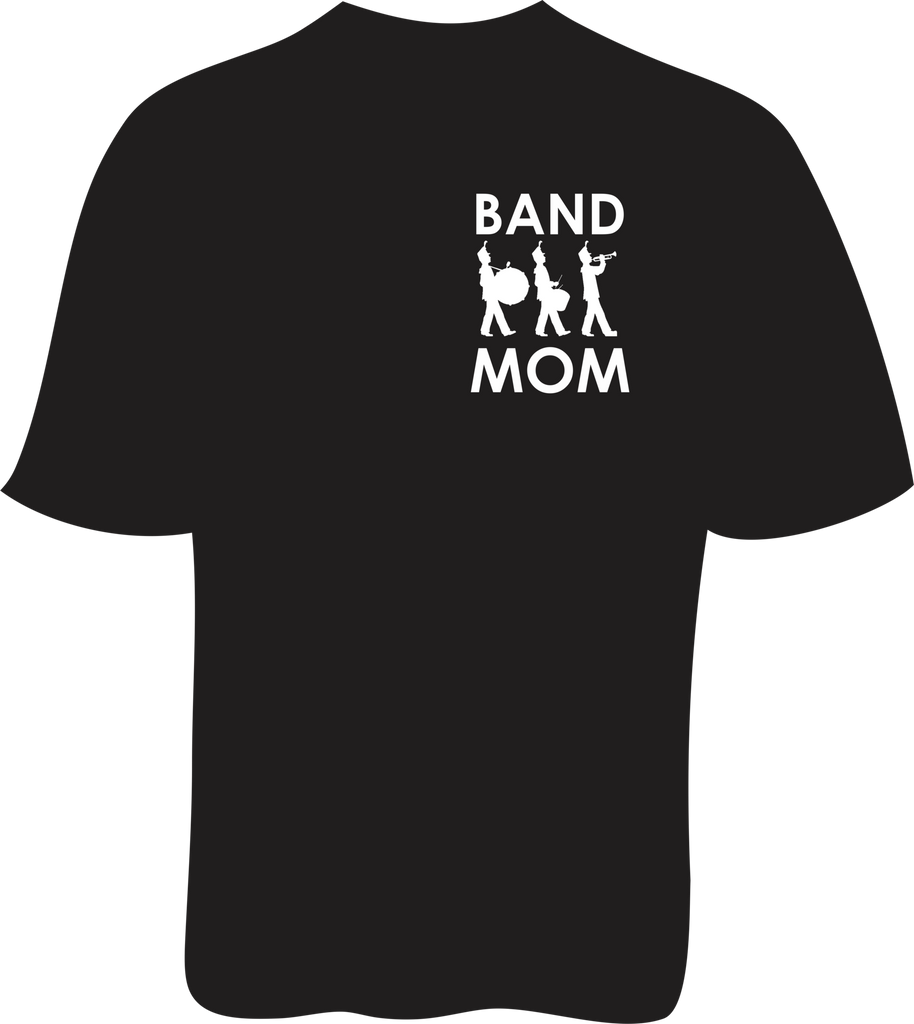 Band Mom Front in Black