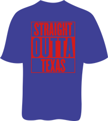 Straight Outta Texas - Ladies SoftStyle Tee