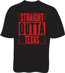 Straight Outta Texas - Unisex SoftStyle Tee