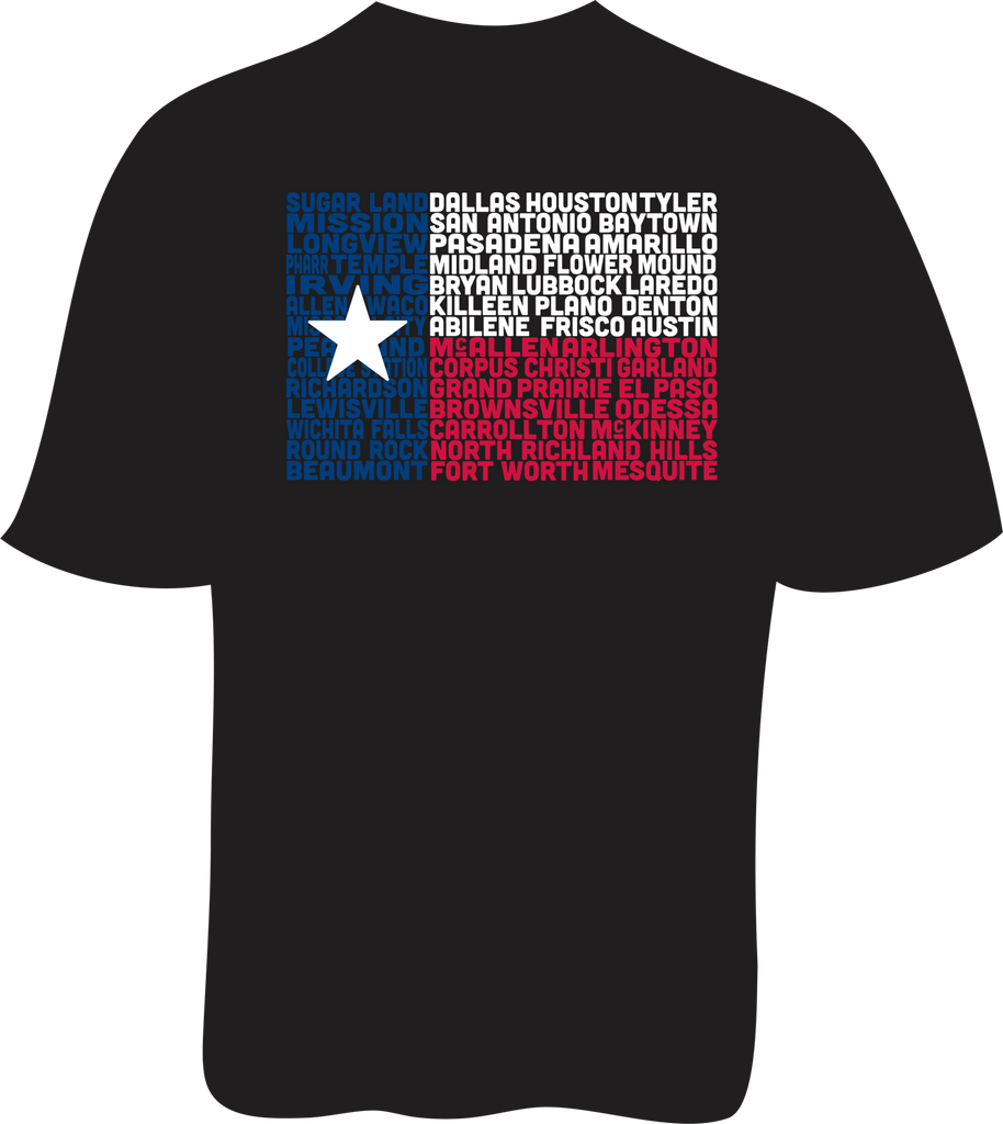 State of Texas Flag - Ladies SoftStyle Tee
