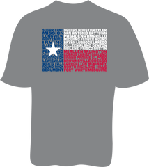 State of Texas Flag - Unisex SoftStyle Tee