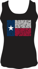 State of Texas Flag - Unisex Tank Top