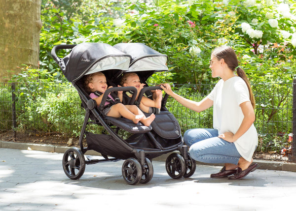 J is For Jeep® Brand Destination Side x Side Double Ultralight Stroller