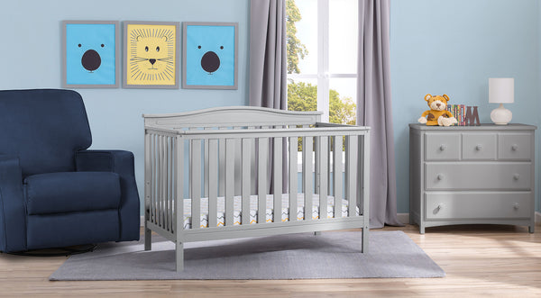 Independence in Grey 6-piece Nursery Furniture Set