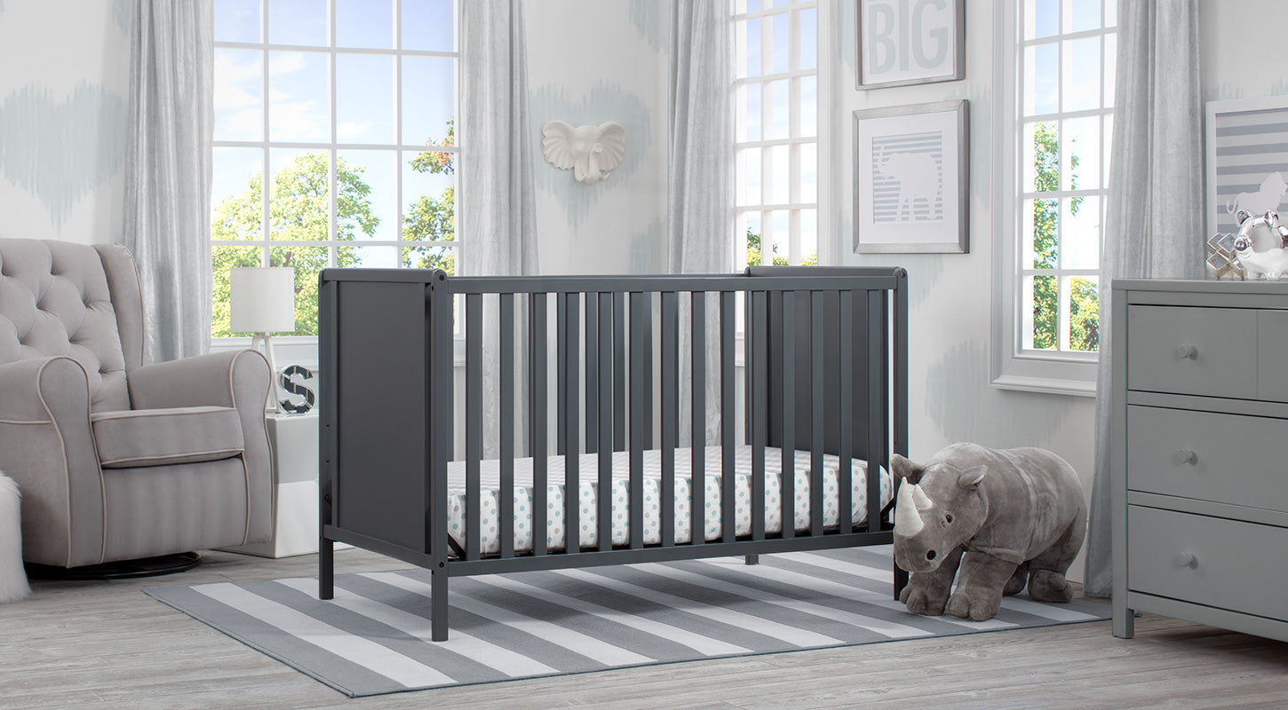 Heartland in Classic Charcoal Nursery Furniture Set