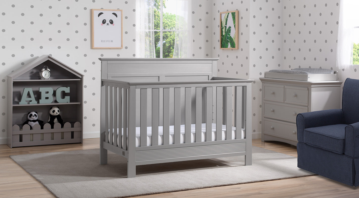 Fall River in Grey 6-Piece Nursery Furniture Set