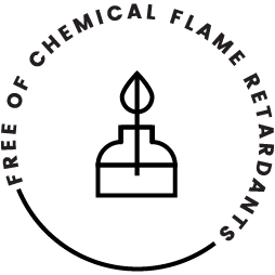 Flame badge