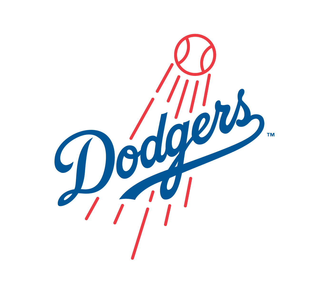 Los Angeles Dodgers Official Logo