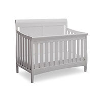 Bennington Elite Sleigh 4-in-1 Crib Convertible Crib