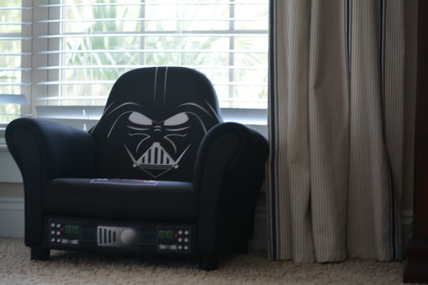 Star Wars Deluxe Upholstered Chair