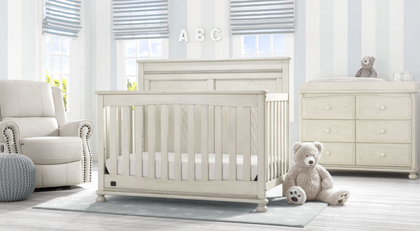 Fontana in Antique White 6-piece Nursery Furniture Set