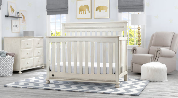 Franklin in Antique White 6-piece Nursery Furniture Set - 6-Piece Nursery Furniture Set – Delta Children