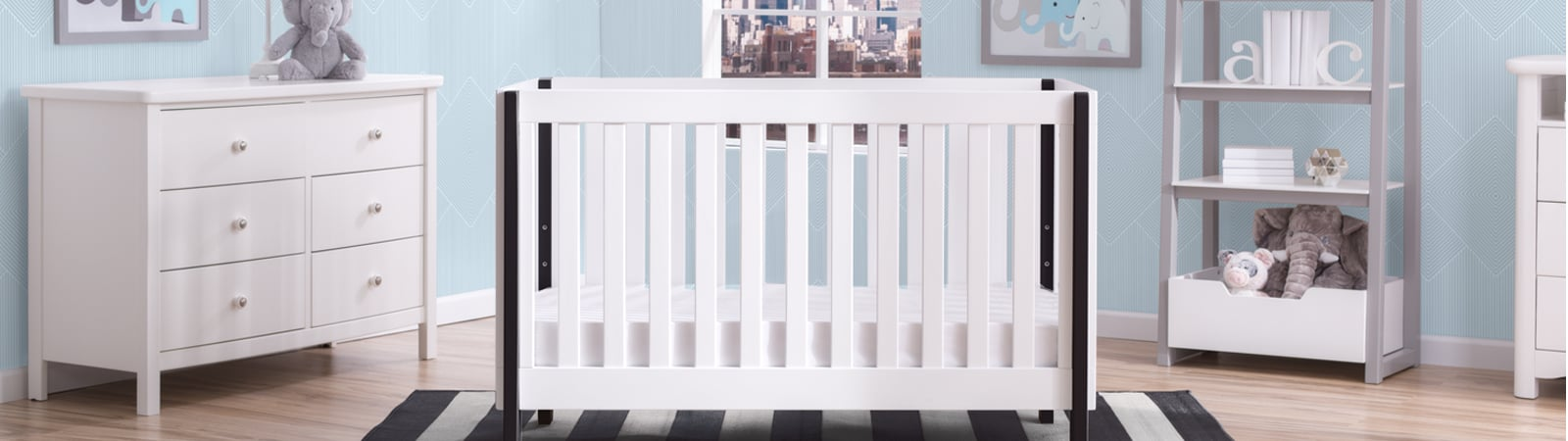 A Delta Childrenu0027s Crib For Infants And Toddlers In A Childu0027s Nursery