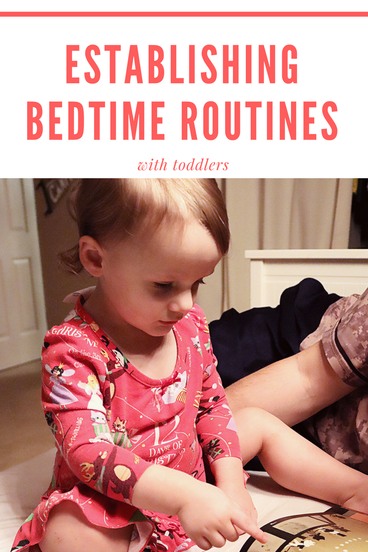 Establishing Bedtime Routines 1