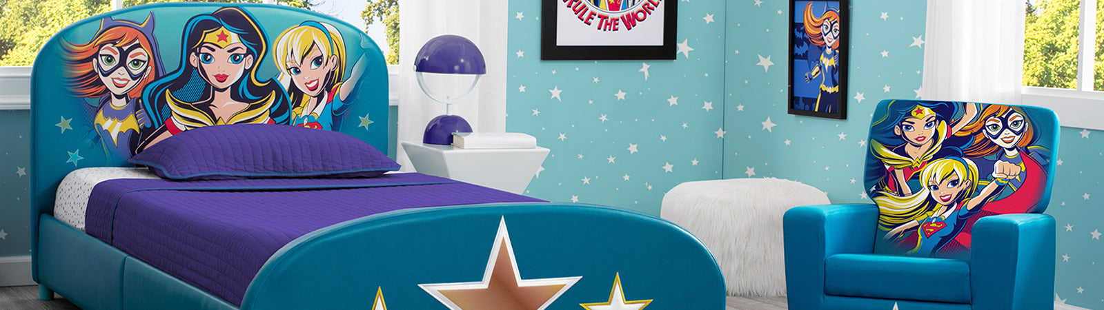 Super Hero Girls Kid's Bedroom