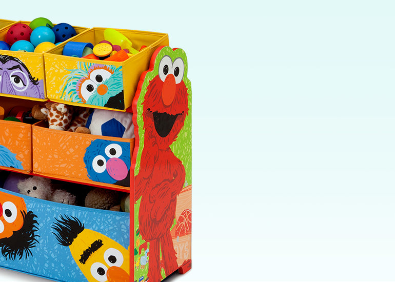 Toy Storage And Bookshelves
