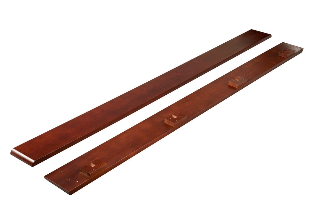 Simmons Kids Dark Cherry (604) Wood Bed Rails (0020) f1f