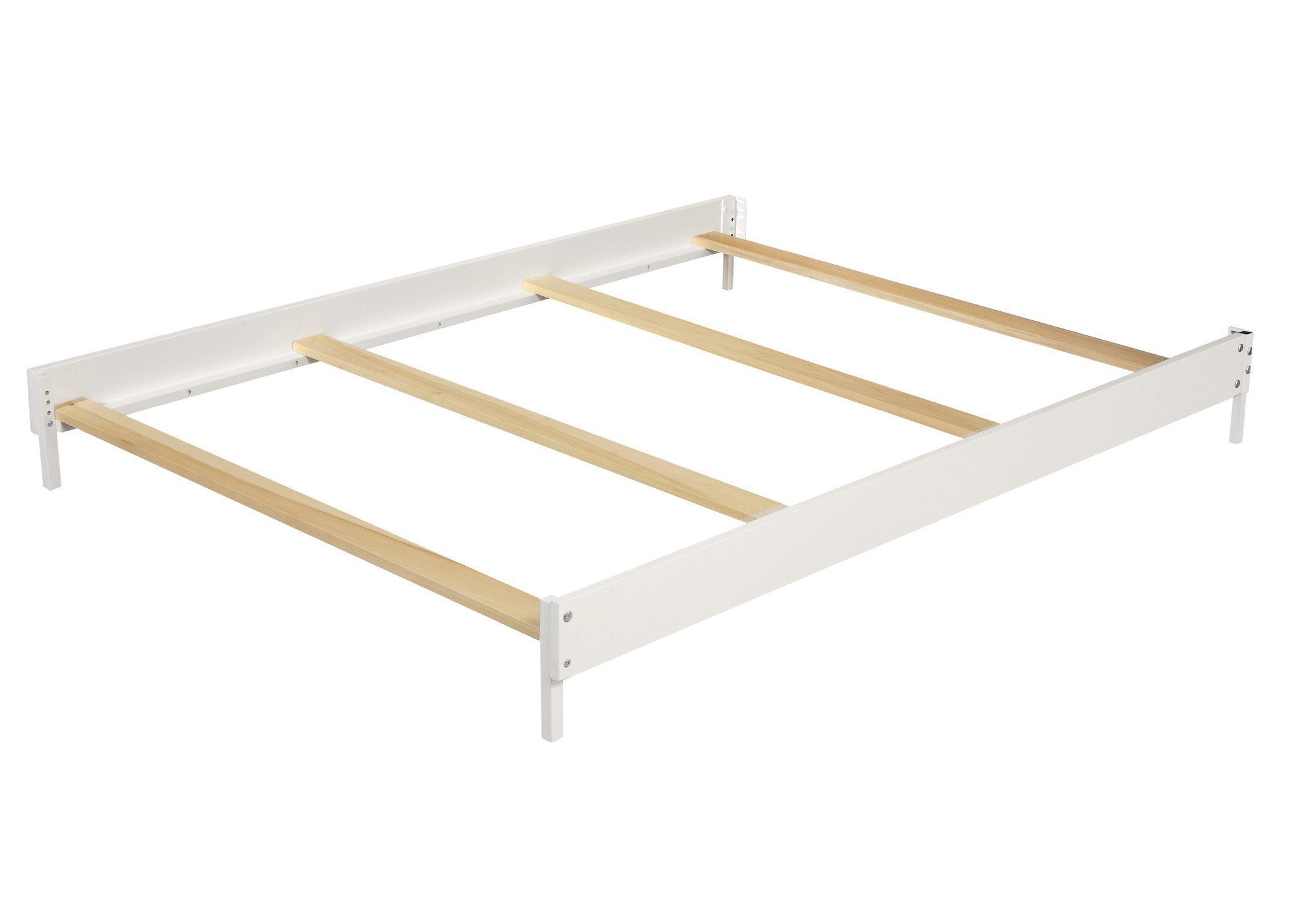 Simmons Kids White (100) Wood Bed Rails (0030) a1a