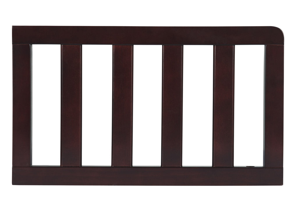 Simmons Kids Dark Chocolate (207) Toddler Guardrail (0080) c1c for Baker 4-in-1 Convertible Crib