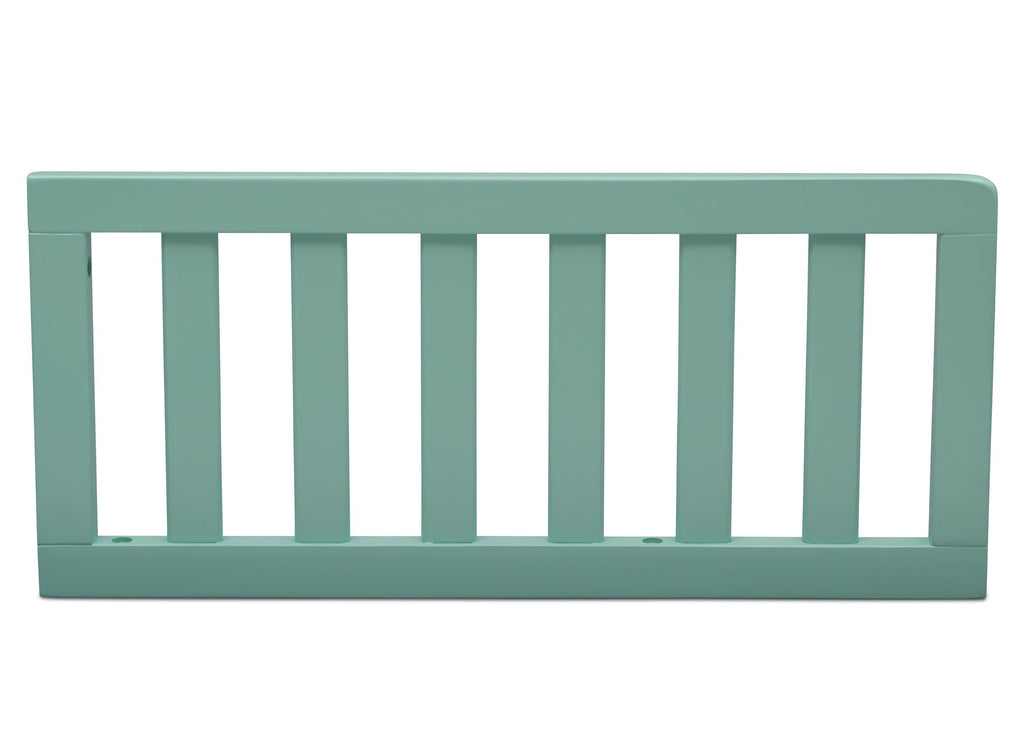 Delta Children Aqua (347) Toddler Guardrail (0080), Front View c1c for New Haven 4-in-1 Convertible Crib
