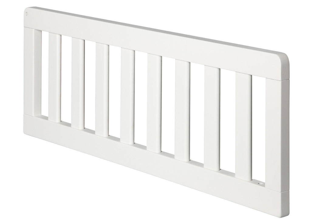 White Ambiance (108), White Ambiance / Dark Chocolate (127) Delta Guardrail (0086) a1a for Chalet 4-in-1 Convertible Crib