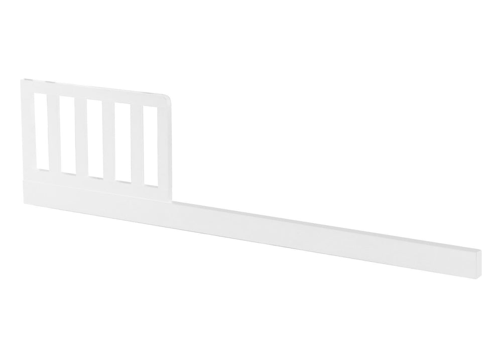 Delta Children White (100) Guardrail (0089) a1a
