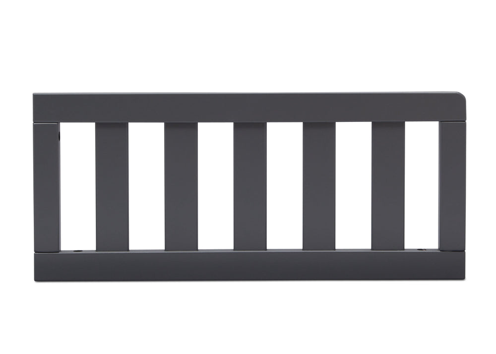 Delta Children Charcoal Grey (029) Toddler Guardrail (0094) angle c1c