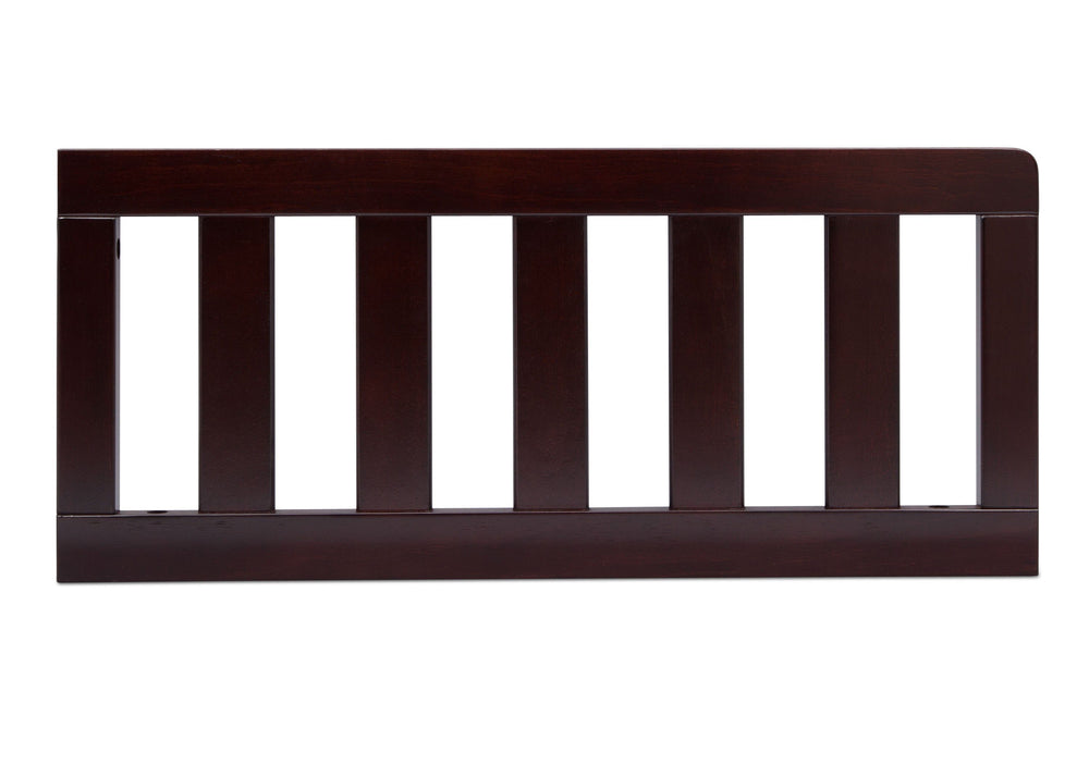 Delta Children Dark Chocolate (207) Toddler Guardrail (0094), Front View f1f