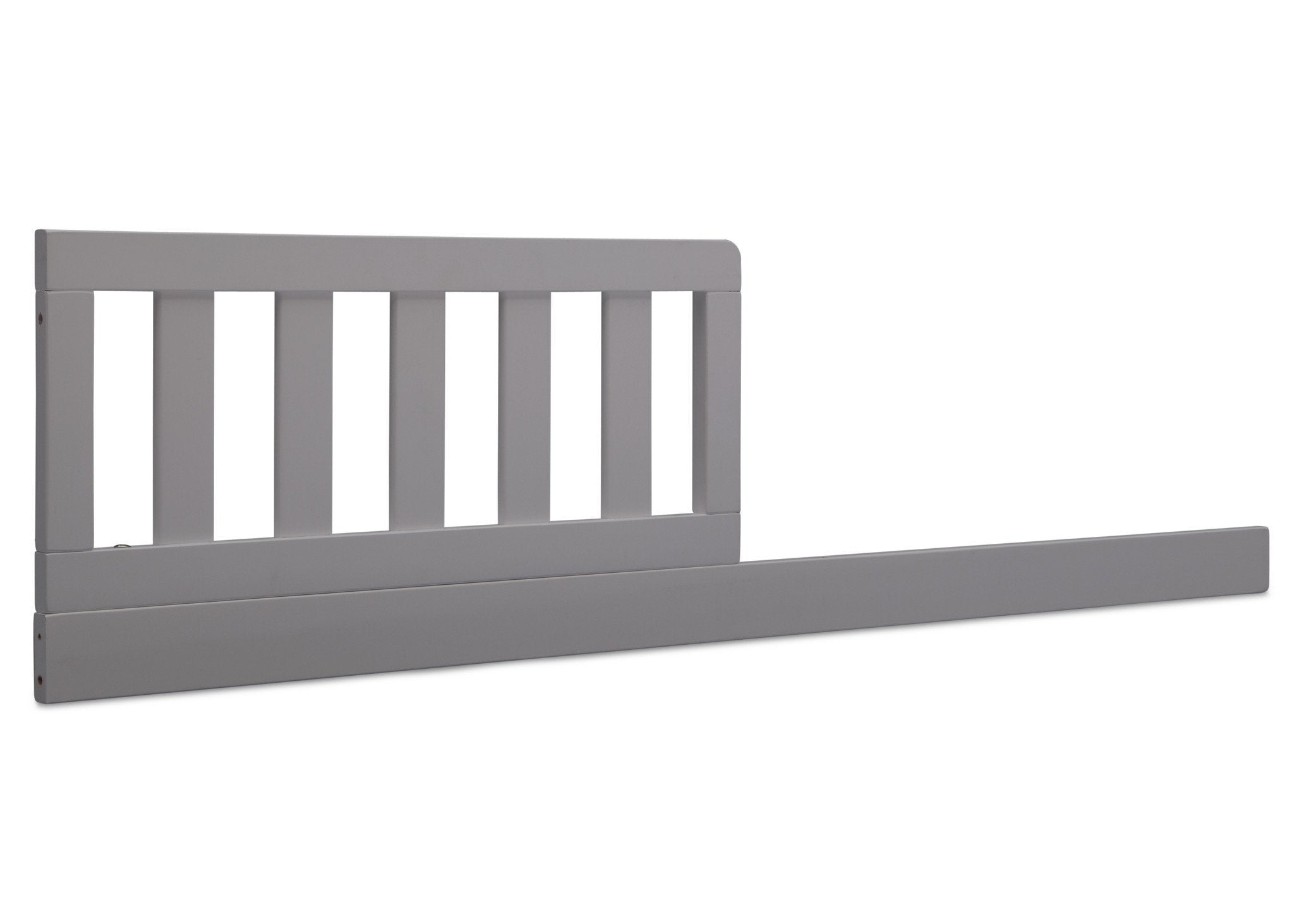 Delta Children Grey (026) Daybed Rail & Toddler Guardrail Kit, Angled View a1a