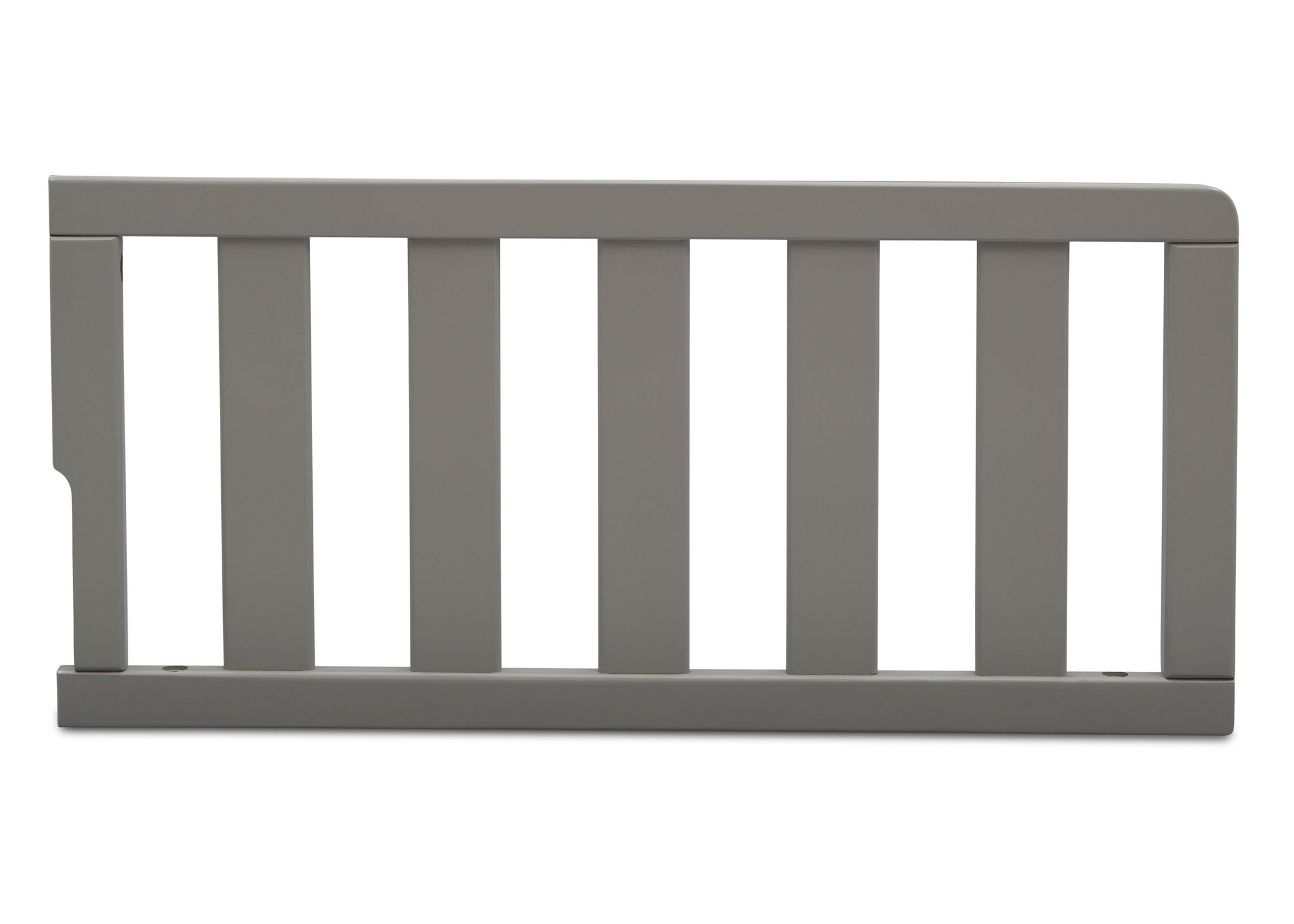 Delta Children Grey (026) Toddler Guardrail (0096), front view a1a