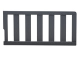 Delta Children Charcoal Grey (029) Toddler Guardrail (0096), front view b1b