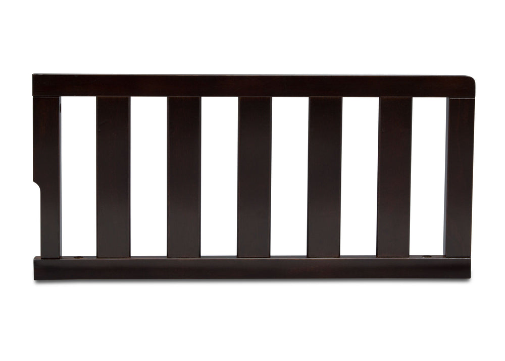 Delta Children Dark Chocolate (207) Toddler Guardrail (0096), front view d1d