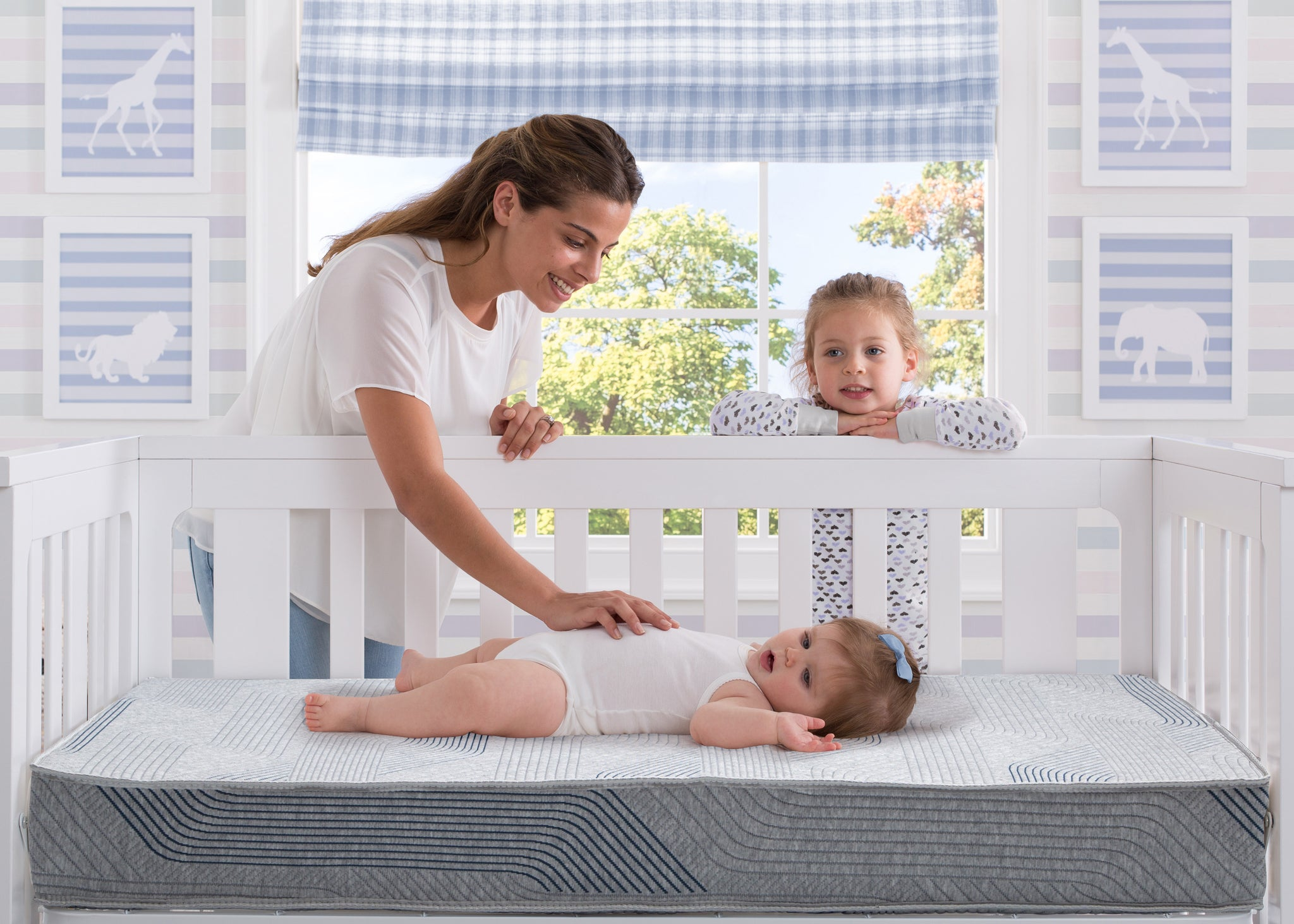 iComfort® HYBRID PureSleep Crib and Toddler Mattress No Color (NO)