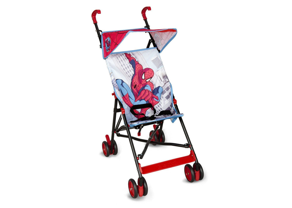 Delta Children Spider-Man Umbrella Stroller, Style-1 Right Side View a1a