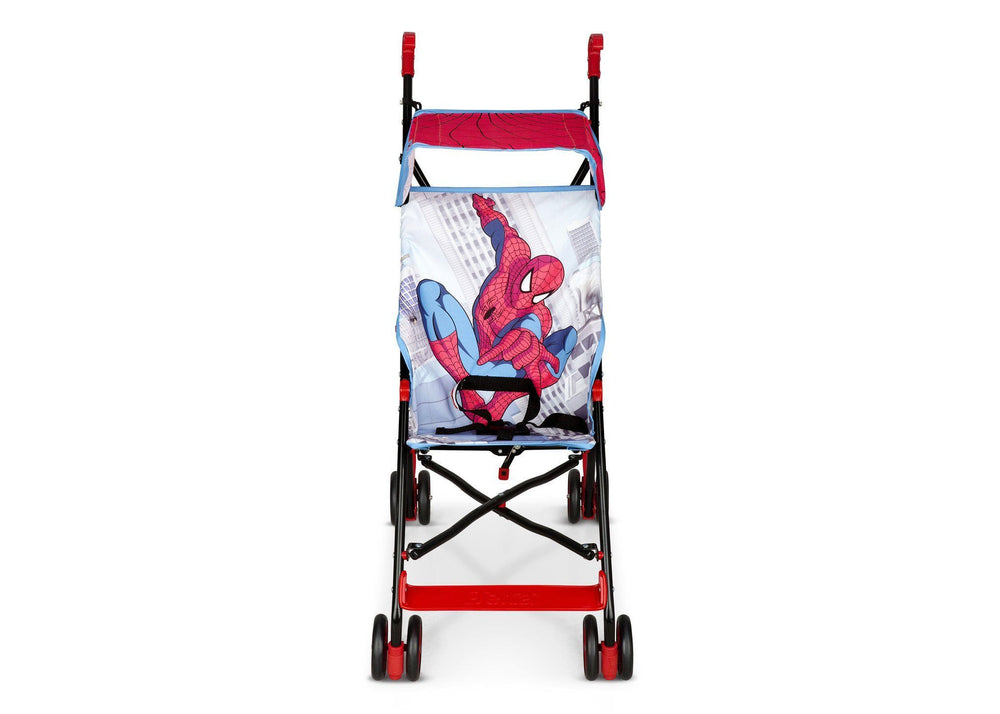 Delta Children Spider-Man Umbrella Stroller, Style-1 Front View a2a