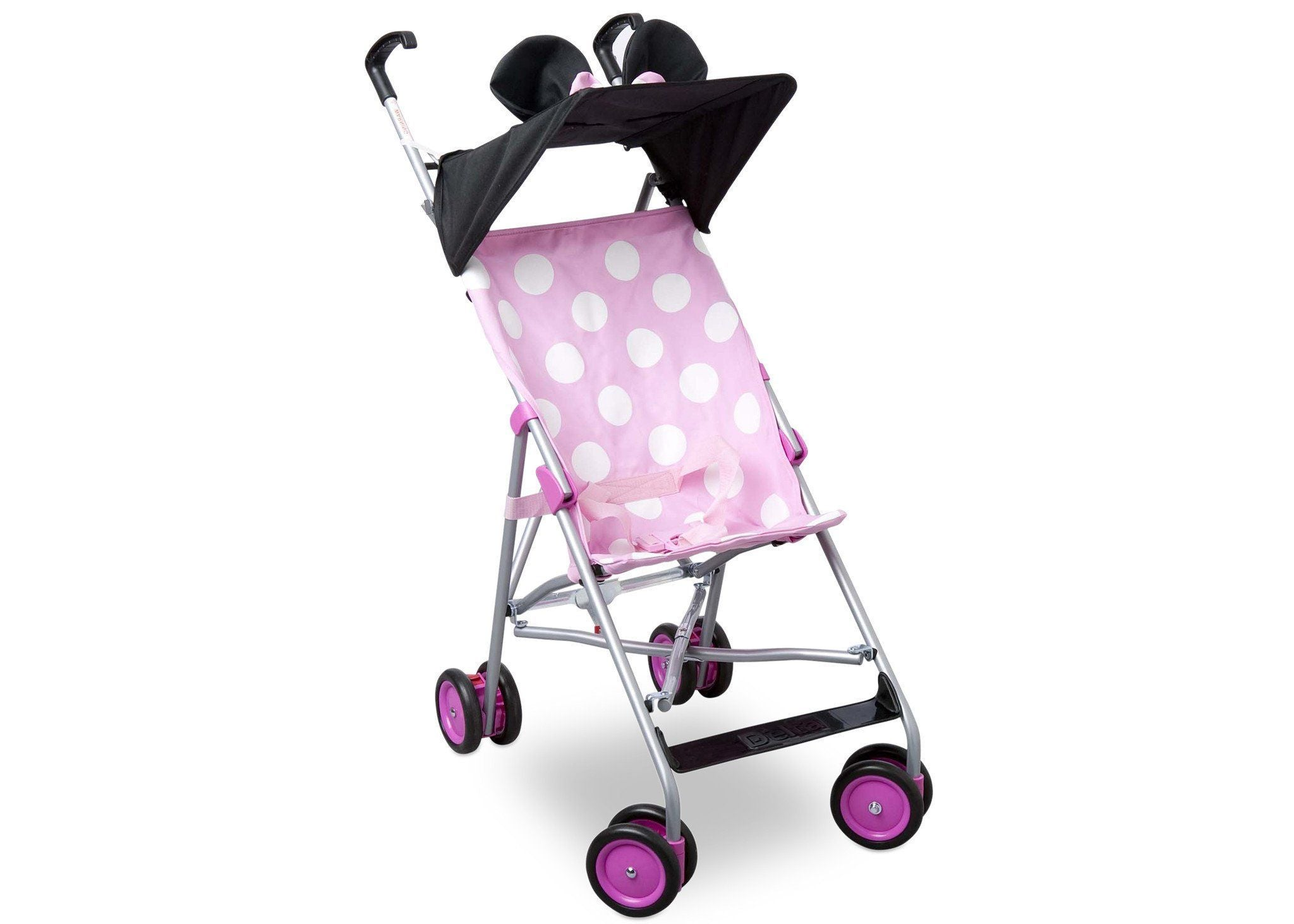 Delta Children Minnie Mouse Umbrella Stroller, Right Side View a1a