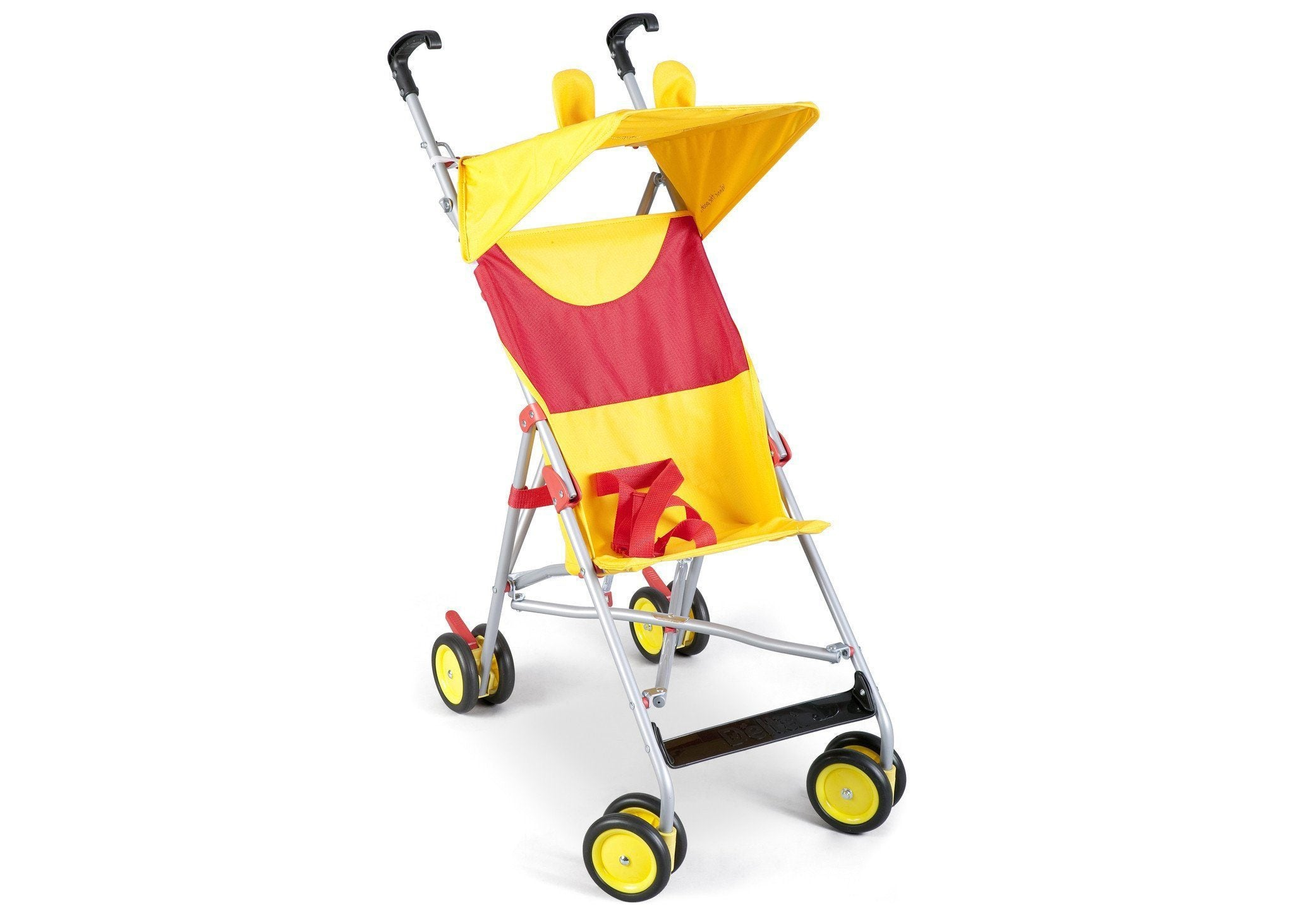 Delta Children Winnie the Pooh Umbrella Stroller, Right Side View a1a