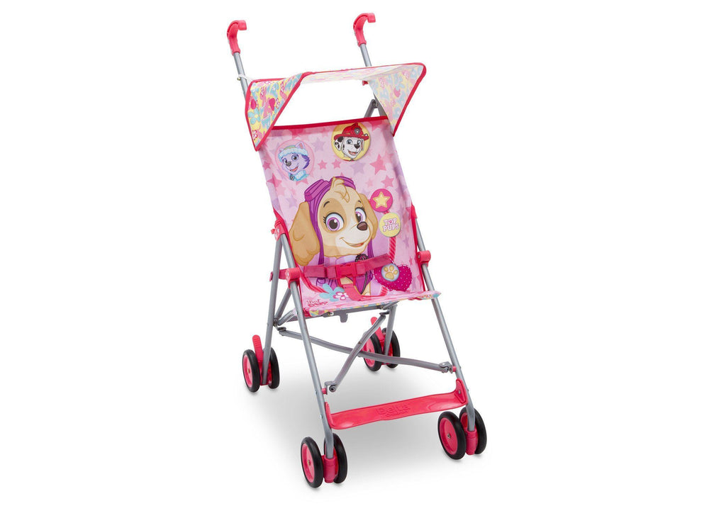 Delta Children Paw Patrol Skye Umbrella Stroller Right View a1a