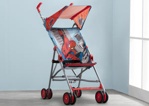 Delta Children Style 1 (466) Spiderman Umbrella Stroller, Hangtag View
