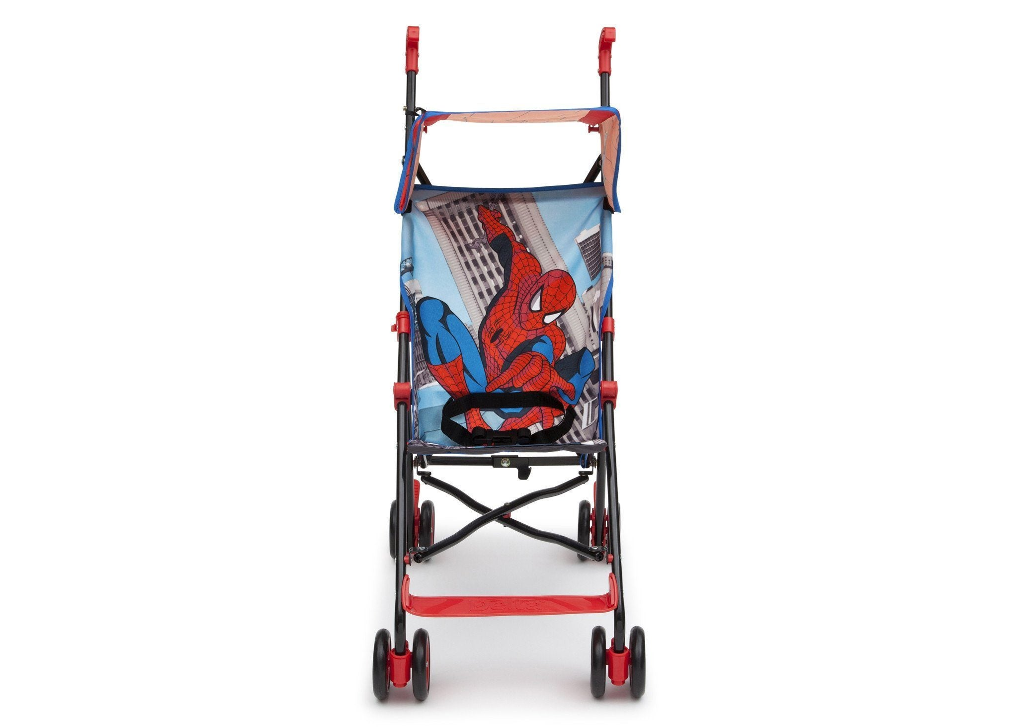 Delta Children Style 1 (466) Spiderman Umbrella Stroller, Front View