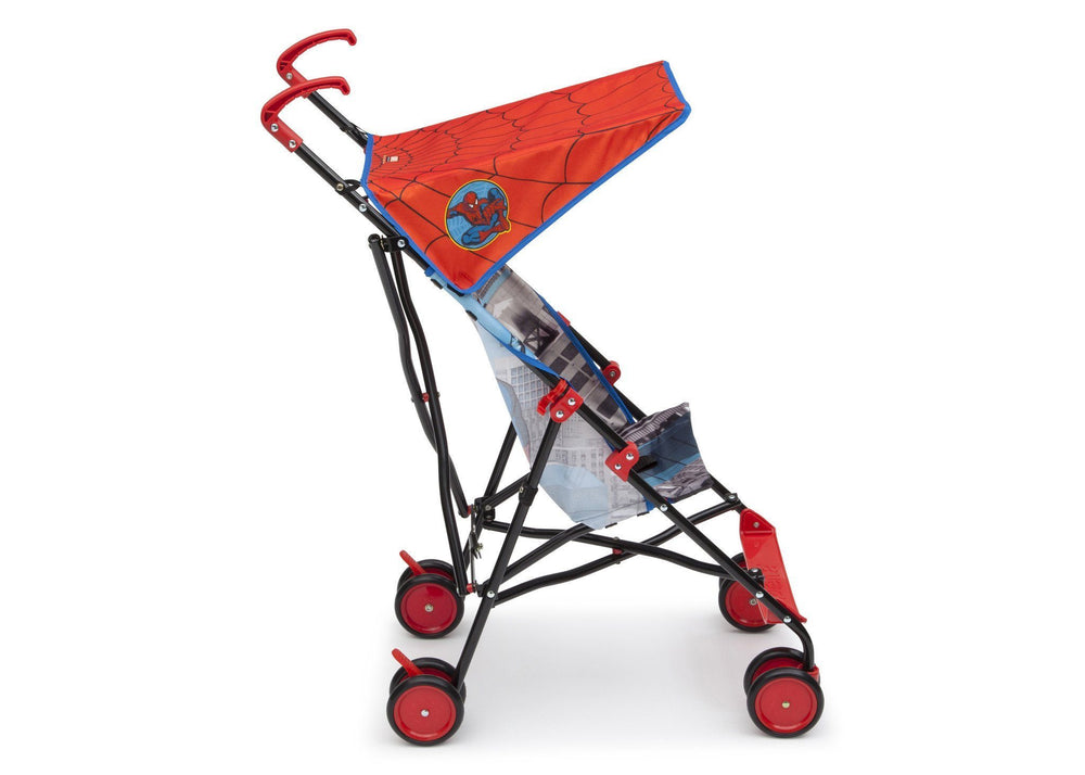 Delta Children Style 1 (466) Spiderman Umbrella Stroller, Side View