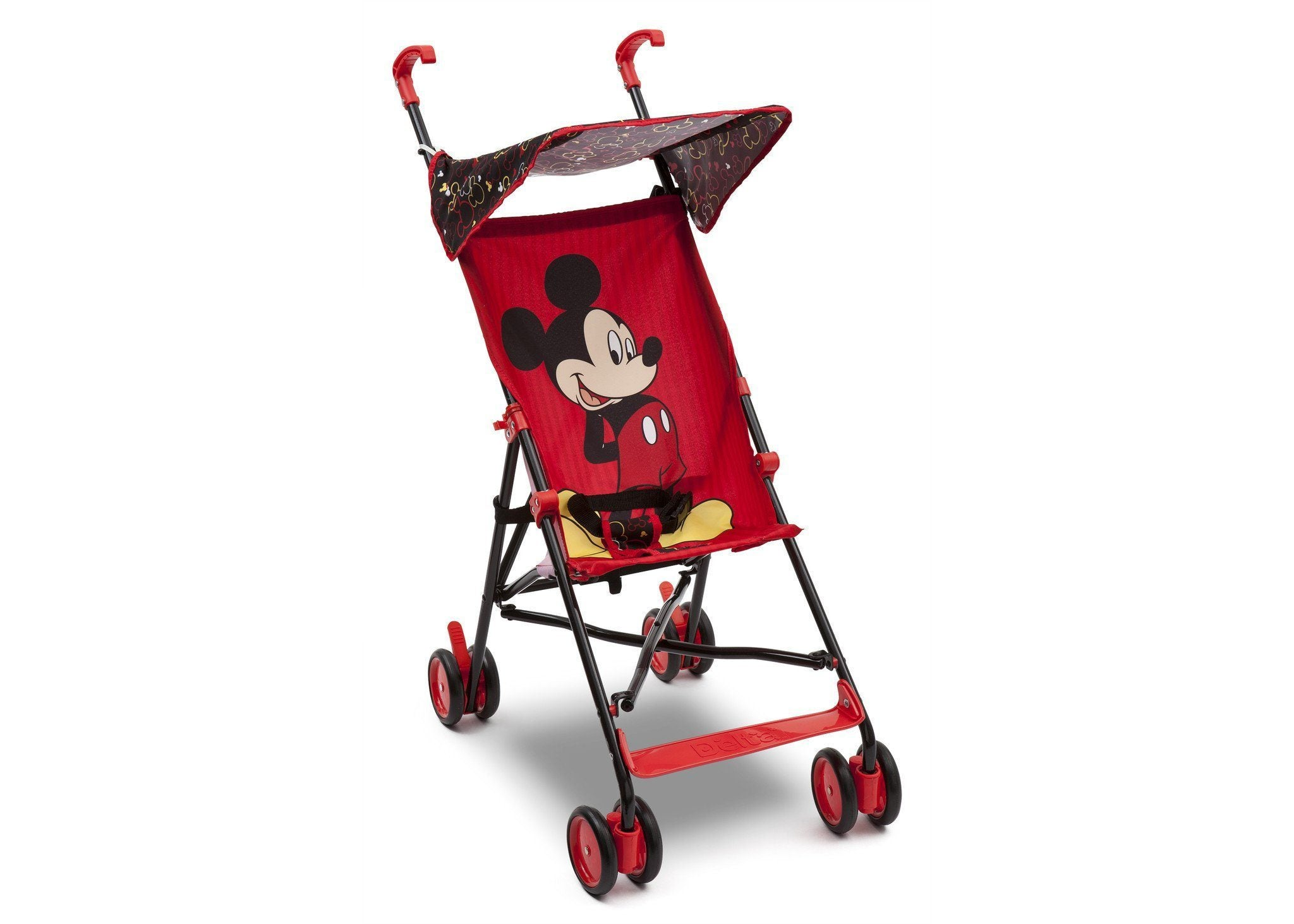 Delta Children Disney Mickey Mouse Umbrella Stroller, Right Side View Style #1 a1a