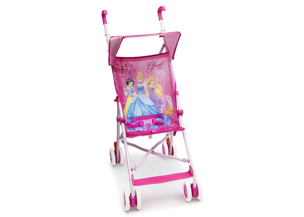 Delta Children Style 1 Disney Princess Umbrella Stroller, Right View a1a