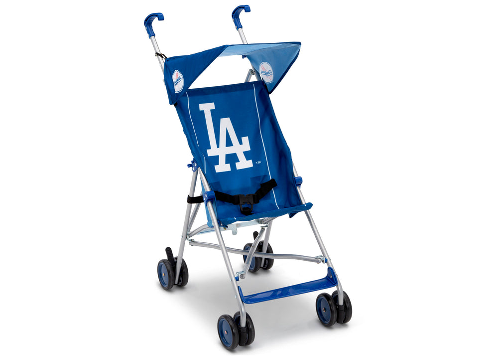 Delta Children Dodgers (1231) MLB Umbrella Stroller (11041) Right View, a1a
