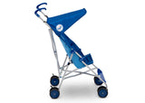 Delta Children Dodgers (1231) MLB Umbrella Stroller (11041) Side View, a3a