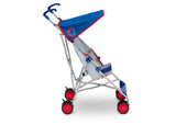 Delta Children Cubs (1232) MLB Umbrella Stroller (11041) Side View, c3c