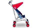 Delta Children Cardinals (1234) MLB Umbrella Stroller (11041) Side View, a3a